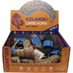 Icelandic+ Lamb Horn - 12-Piece Display Loose  (Sized Approx. 6.5-7in)