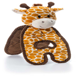 Charming Pet Cuddle Tugs Giraffe Dog Toy