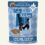 Cats In the Kitchen Cat 1 Land 2 Sea 3 Oz. Pouch