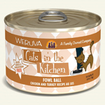Cats In the Kitchen Cat Fowl Ball 6 Oz. Case of 24