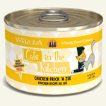 Cats In the Kitchen Cat Chicken Frick A Zee 6 Oz. Case of 24