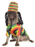 Rubies Rasta Dog Pet Costume S