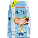 GRANDMA LUCY'S CAT FREEZE-DRIED ARTISAN GRAIN FREE CHICKEN & FISH 1LB