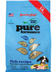 Grandma Lucys Dog  Pure Grain Free Fish  Chickpea  3 Lbs.