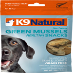 K9 Natural  Dog Freeze Dried Treat Green Mussels 1.76 Oz.