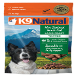 K9 Natural  Dog Freeze Dried Topper Lamb 5 Oz.