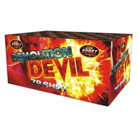 Demolition Devil Cake at Sonic Fireworks Shop
