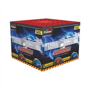 False Sense of Security Cake from Sonic Fireworks Shop