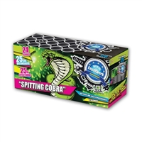 Spitting Cobra Cake from Sonic Fireworks Shop