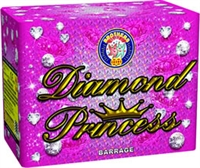 Diamond Princess Cake from Sonic Fireworks Shop
