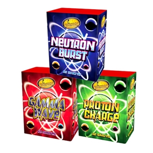 Neutron Burst, Proton Charge & Gamma Wave from Sonic Fireworks Shop