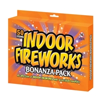 Indoor Fireworks Pack (50pce) from Sonic Fireworks Shop