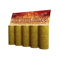 Gold Mini Table Bombs (5pce) from Sonic Fireworks Shop