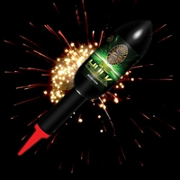 Hulk Rocket  - Gold Willow - from Sonic Fireworks Shop