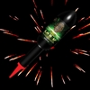 Hulk Rocket  - Red Glittering Willow - from Sonic Fireworks Shop