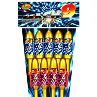 Mach-9 Rocket Pack (9pce) from Sonic Fireworks Shop