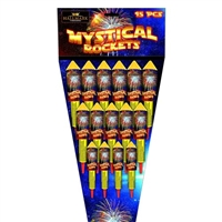 Mystical Rocket Pack (15pce) from Sonic Fireworks Shop