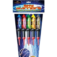 Sky Warrior Rocket Pack (5pce) from Sonic Fireworks Shop