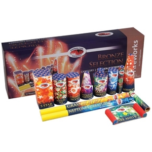 Bronze Premium Selection Box (12pce) from Sonic Fireworks Shop