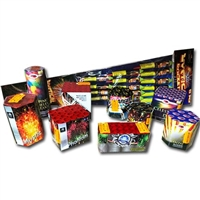 Diamond Premium Selection Pack (24pce) from Sonic Fireworks Shop