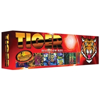 Tiger Selection Box (18pce) from Sonic Fireworks Shop