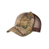 Structured Camouflage Mesh Back Cap