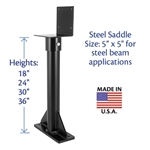 18 36 inch heavy duty roof risers - skylift hardware