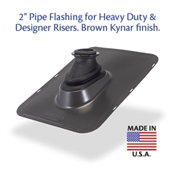 "Ultimate Pipe Flashing 2"" - For Heavy Duty Risers"