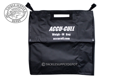 Accu Cull Weigh-IN Bag with Zipper