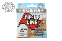 Beaver Dam Tip-Up Fishing Line