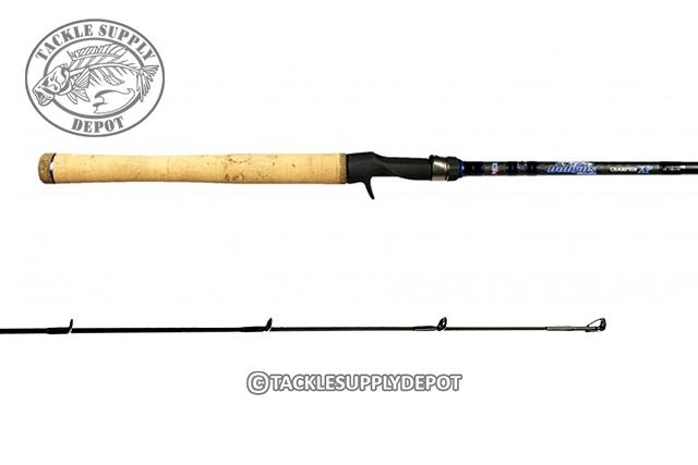 Dobyns Champion XP Paul Mueller Signature Glass Crankbait 8ft DC805CBGLASS  Medium Heavy Casting Rod