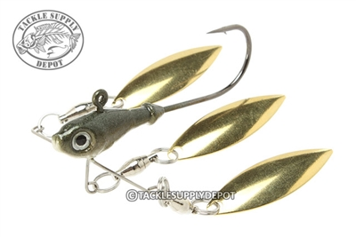Elite Bait Co Triple Shad Elite Underspin Jig