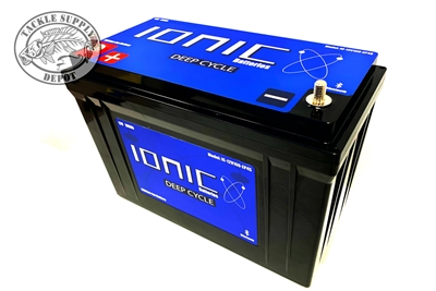 Ionic Deep Cycle Lithium Battery  12 Volt 100Ah