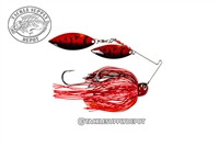 Strike King Tour Grade Painted Blade Spinnerbait- Willow/Willow