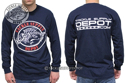 Tackle Supply Depot - Logo Long Sleeve Shirt