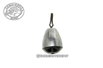 Tackle Supply Depot Steel Tear Drop Shot