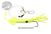 Tsunami Jumbo Fluke Rig with Spinner And Squid