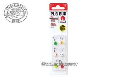 VMC Pug Bug Jig Kit Assorted Colors