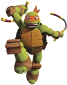 TMNT Michelangelo Giant Wall Decal | 253573
