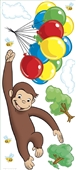 Curious George Peel & Stick Giant Wall Decals | 253580
