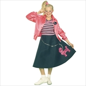 Nifty Fifties Teen Costume