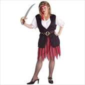 Pirate Woman Adult plus Costume