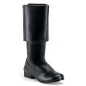 PIRATE (Black) Adult Boots