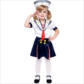 Sailorette Toddler Costume