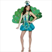 Peacock Gal Teen Costume