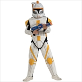Star Wars Animated Clone Trooper Commander Cody Adult Costume