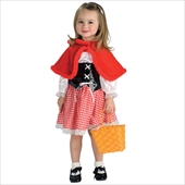 Cute Lil Red Riding Hood Toddler Costume