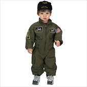 Jr. Armed Forces Pilot Suit Toddler Costume