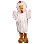 Chicken Economy Mascot Adult Costume