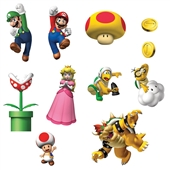 Super Mario Bros. Removable Wall Decorations | 164716